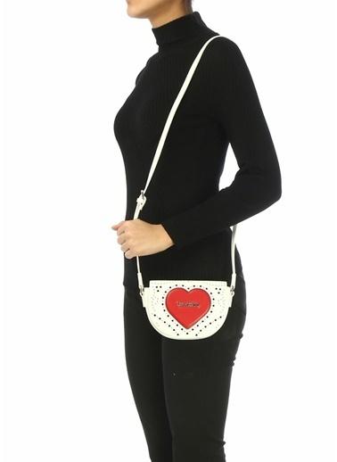 Love Moschino Messenger / Askılı Çanta Kırmızı